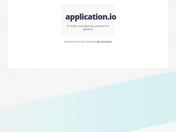 application.io