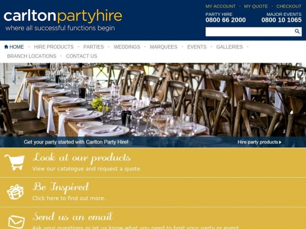 carltonpartyhire.co.nz