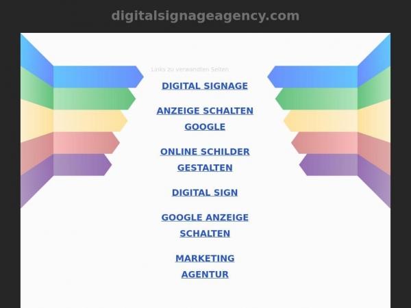 digitalsignageagency.com