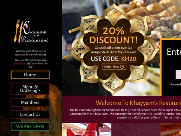 khayyam-restaurant.com