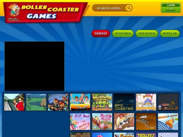 rollercoastergamesonline.com