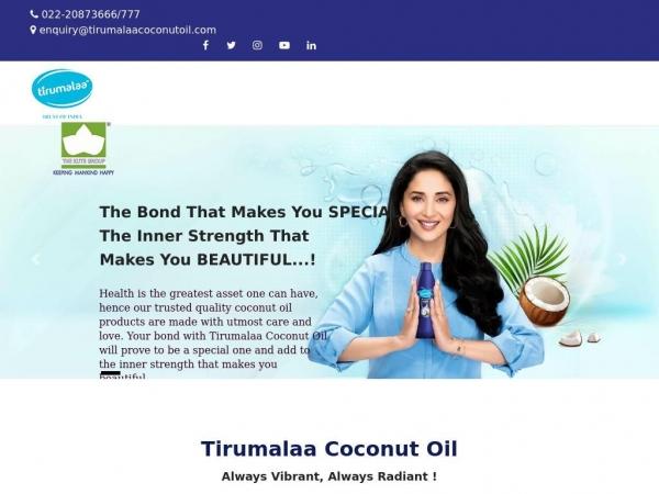 tirumalaacoconutoil.com