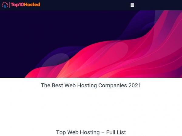 top10hosted.com