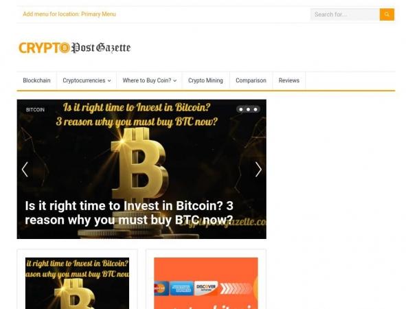 cryptopostgazette.com