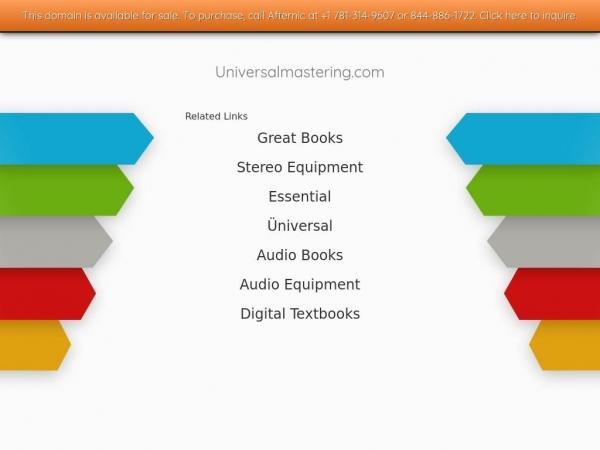 universalmastering.com